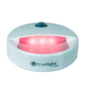 TrueLight Portable Nightlight illuminating the dark