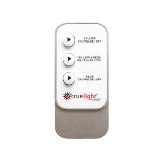 TrueLight Energy Square Device replacement remote in white and silver